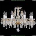 1410/8/195/G/V0300 Хрустальная подвесная люстра Bohemia Ivele Crystal (Богемия)