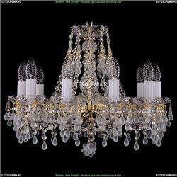1410/10/160/G/V0300 Хрустальная подвесная люстра Bohemia Ivele Crystal