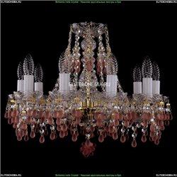 1410/10/160/G/V7010 Хрустальная подвесная люстра Bohemia Ivele Crystal