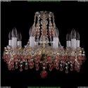 1410/10/160/G/V7010 Хрустальная подвесная люстра Bohemia Ivele Crystal (Богемия)