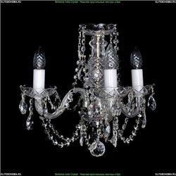 1406/3/160/Ni Хрустальная подвесная люстра Bohemia Ivele Crystal
