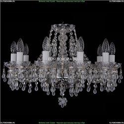 1410/10/195/Ni/V0300 Хрустальная подвесная люстра Bohemia Ivele Crystal
