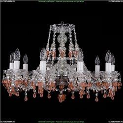 1410/10/240/Ni/V7010 Хрустальная подвесная люстра Bohemia Ivele Crystal