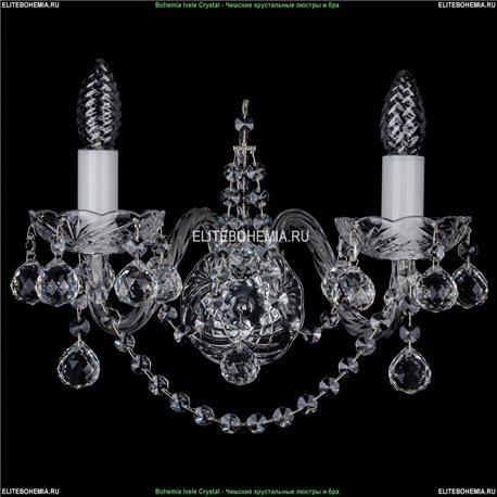 1411/2/Big/Ni/Balls Хрустальная бра Bohemia Ivele Crystal (Богемия)