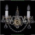 1411B/2/141/G/Balls Хрустальное бра Bohemia Ivele Crystal