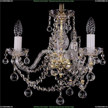 1411/3/141/G/Balls Хрустальная подвесная люстра Bohemia Ivele Crystal (Богемия)