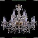 1411/8+4/300/G Хрустальная подвесная люстра Bohemia Ivele Crystal