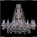 1411/16/360-87/G Хрустальная подвесная люстра Bohemia Ivele Crystal (Богемия)