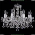 1413/8/165/Ni/Balls Хрустальная подвесная люстра Bohemia Ivele Crystal