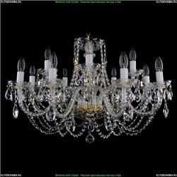 1406/8+4/300/G Хрустальная подвесная люстра Bohemia Ivele Crystal