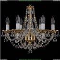 1606/6/160/G/Balls Хрустальная подвесная люстра Bohemia Ivele Crystal