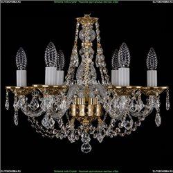 1606/6/160/G/Leafs Хрустальная подвесная люстра Bohemia Ivele Crystal
