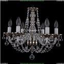1606/6/160/NB/Balls Хрустальная подвесная люстра Bohemia Ivele Crystal