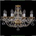 1606/8/195/G/Balls Хрустальная подвесная люстра Bohemia Ivele Crystal