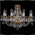 1606/8/195/G/Leafs Хрустальная подвесная люстра Bohemia Ivele Crystal