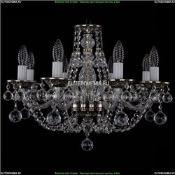 1606/8/195/NB/Balls Хрустальная подвесная люстра Bohemia Ivele Crystal