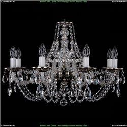 1606/8/240/NB Хрустальная подвесная люстра Bohemia Ivele Crystal