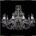 1606/10/240/NB/Balls Хрустальная подвесная люстра Bohemia Ivele Crystal