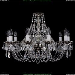 1606/10/240/NB/Leafs Хрустальная подвесная люстра Bohemia Ivele Crystal