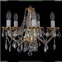 1613/5/141/G/Leafs Хрустальная подвесная люстра Bohemia Ivele Crystal