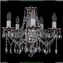1613/5/141/NB Хрустальная подвесная люстра Bohemia Ivele Crystal