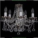 1613/5/141/NB/Balls Хрустальная подвесная люстра Bohemia Ivele Crystal