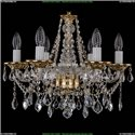 1613/6/165/G/Leafs Хрустальная подвесная люстра Bohemia Ivele Crystal