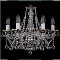 1613/6/165/NB/Balls Хрустальная подвесная люстра Bohemia Ivele Crystal
