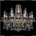 1613/8+4/200/GB/Balls Хрустальная подвесная люстра Bohemia Ivele Crystal