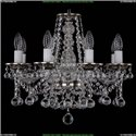 1613/8/165/NB/Balls Хрустальная подвесная люстра Bohemia Ivele Crystal
