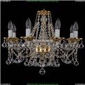 1613/8/200/G/Balls Хрустальная подвесная люстра Bohemia Ivele Crystal