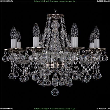 1613/8/200/NB/Balls Хрустальная подвесная люстра Bohemia Ivele Crystal (Богемия)