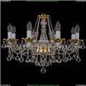 1613/8/220/G/Balls Хрустальная подвесная люстра Bohemia Ivele Crystal