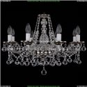 1613/8/220/NB/Balls Хрустальная подвесная люстра Bohemia Ivele Crystal