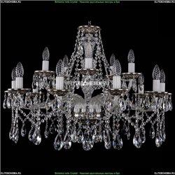 1613/10+5/300/NB Хрустальная подвесная люстра Bohemia Ivele Crystal