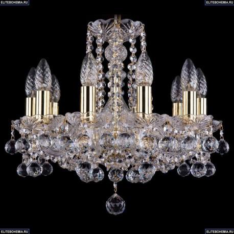 1402/10/141/G/Balls Хрустальная подвесная люстра Bohemia Ivele Crystal