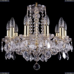 1402/10/141/G/Leafs Хрустальная подвесная люстра Bohemia Ivele Crystal