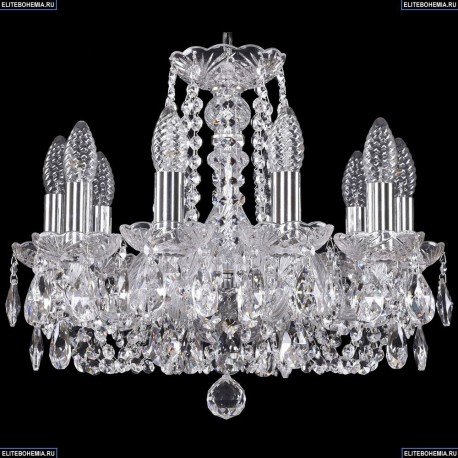 1402/10/141/Ni Хрустальная подвесная люстра Bohemia Ivele Crystal