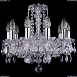 1402/10/141/Ni/Leafs Хрустальная подвесная люстра Bohemia Ivele Crystal (Богемия)
