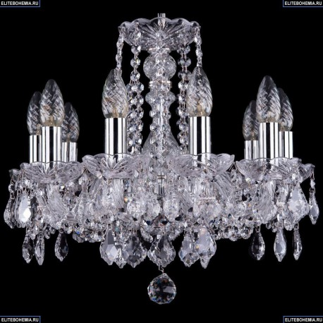 1402/10/141/Ni/Leafs Хрустальная подвесная люстра Bohemia Ivele Crystal