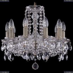 1402/10/141/Pa Хрустальная подвесная люстра Bohemia Ivele Crystal