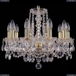 1402/10/160/G Хрустальная подвесная люстра Bohemia Ivele Crystal (Богемия)