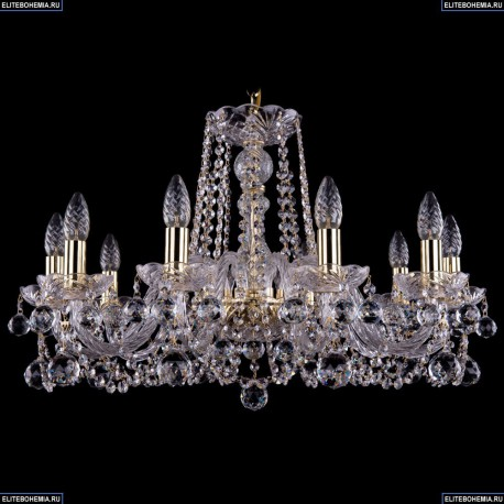 1402/10/240/G/Balls Хрустальная подвесная люстра Bohemia Ivele Crystal