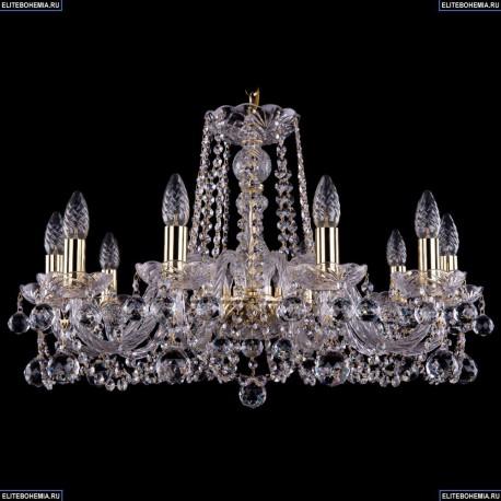 1402/10/240/G/Balls Хрустальная подвесная люстра Bohemia Ivele Crystal (Богемия)