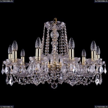 1402/10/240/G/Leafs Хрустальная подвесная люстра Bohemia Ivele Crystal (Богемия)