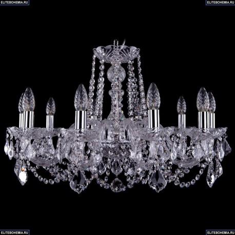 1402/10/240/Ni/Leafs Хрустальная подвесная люстра Bohemia Ivele Crystal (Богемия)