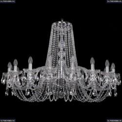 1402/18/400/Ni Хрустальная подвесная люстра Bohemia Ivele Crystal (Богемия)