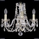 1402/3/141/G Хрустальная подвесная люстра Bohemia Ivele Crystal