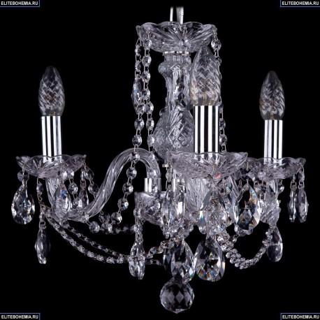1402/3/141/Ni Хрустальная подвесная люстра Bohemia Ivele Crystal
