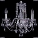 1402/3/141/Ni Хрустальная подвесная люстра Bohemia Ivele Crystal (Богемия)